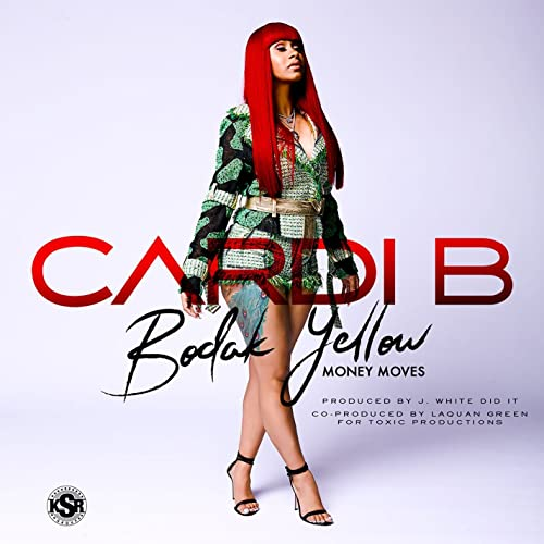 Bodak Yellow Clean Cardi B product image