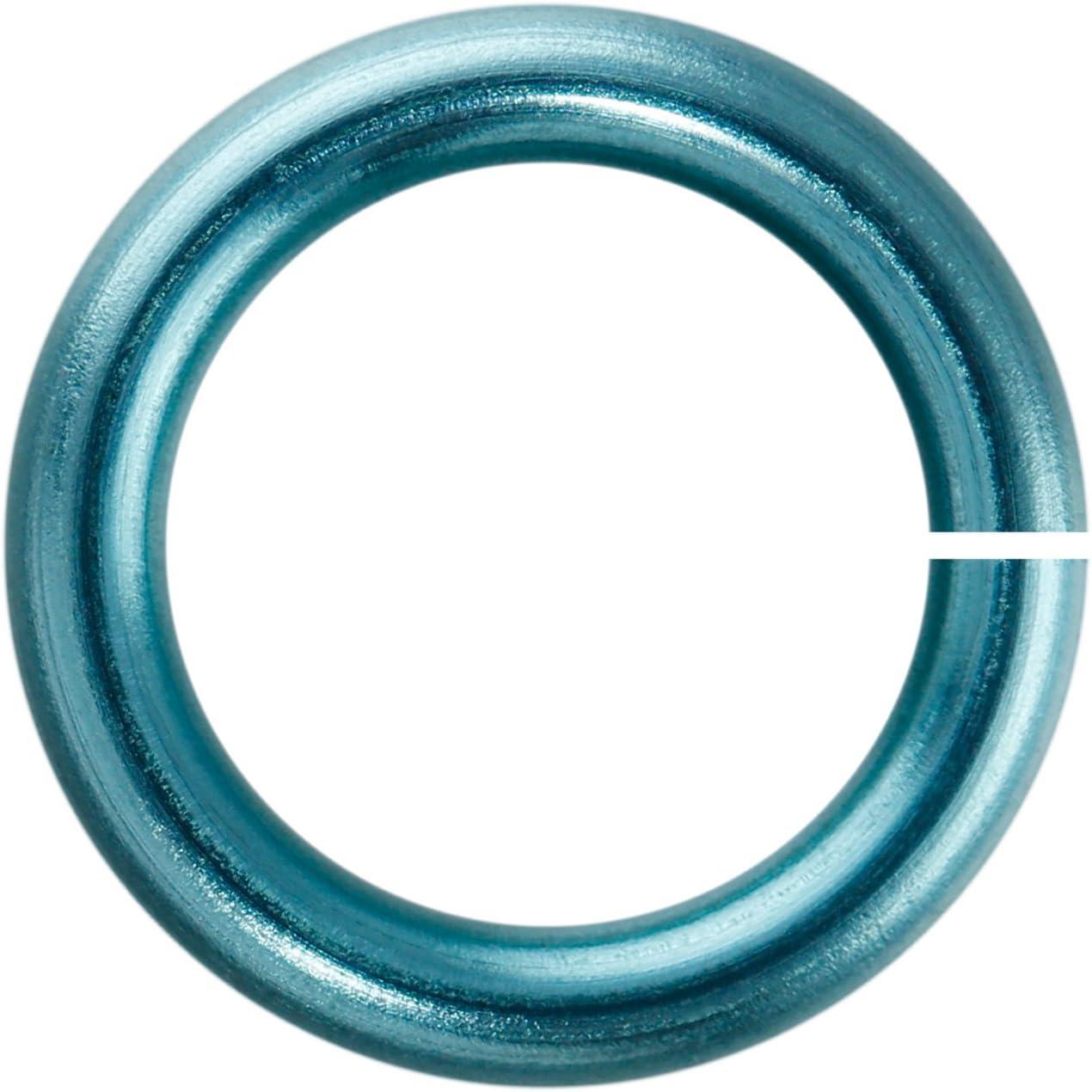 Weave Got Maille 18-Gauge 5.5mm Baby Dedication Enameled Copper Blue Jump Dedication R