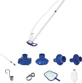 Bestway 8320510 - Kit mantenimiento limpiafondos con cesta y pértiga