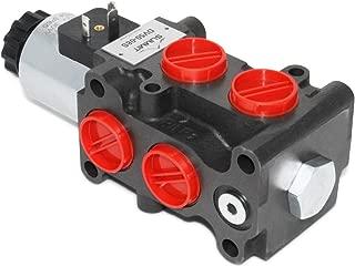 Hydraulic Solenoid Selector/Diverter Valve, 13 GPM, 12v DC