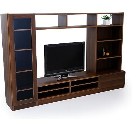 LOWYA ロウヤ TVボード 壁面 テレビ台 テレビボード 壁面ユニット 幅220cm ウォルナット