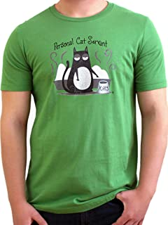 Paw Addict Soft & Comfortable Funky Cat T Shirt for Men Women - Perfect for Cat Lovers