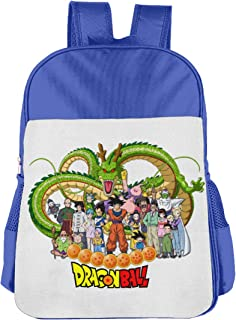 Zhenzhan Girls And Boys Schoolbag For Primary School Stylish Dragon Ball Z Students Backpack