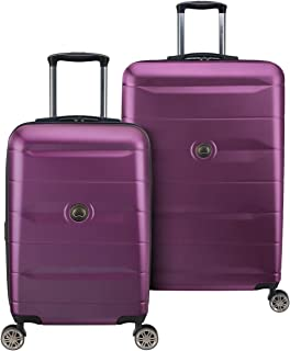DELSEY Paris Comete 2.0 Hardside Expandable Luggage with Spinner Wheels, Purple, 2-Piece Set (21/28)