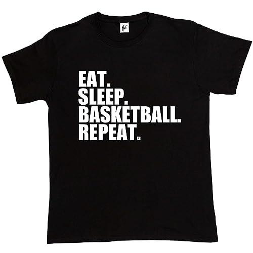 Fancy A Snuggle Eat. Sleep. Basketball. Repeat. Slam Dunk Mens T- b0875d120