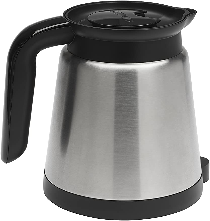K300 2.0 Single Serve and 4-Cup Carafe Brewer in Black