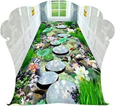 YANZHEN Hallway Runner Rugs Corridor Carpet Door Mat Kitchen Non-Slip Cutable Thickness 6mm, 0.6 M / 0.8 M / 0.9 M / 1 M /...