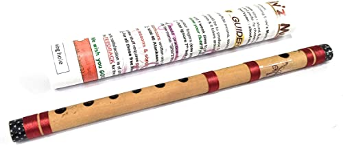 Shiv z Muzic KIDS Flute C Scale 14 Inches Bansuri FREE Written Manual