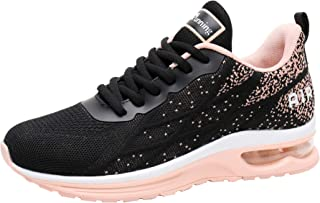 Women's Air Athletic Running Sneaker Cute Fitness Sport Gym Jogging Tennis Shoes (US5.5-10 B(M)