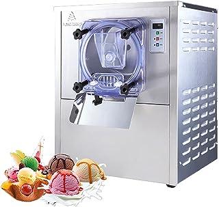 Machine commerciale de crème glacée dure 1400W, machine italienne de fabricant de glace 20L/time, machine de fabricant de ...