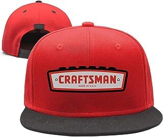 Unisex Dad Cap Trucker-Craftsman-Hat Casual Breathable Baseball Snapback Mesh