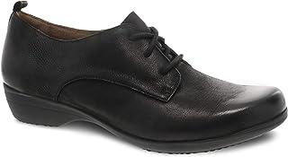 Dansko Women's Finola Black Oxford Comfort Shoe 6.5-7 M US