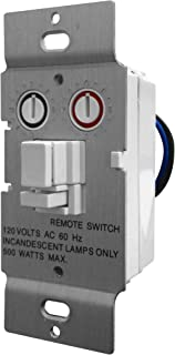 X10 PRO Soft Start Dimmable Wall Switch, White (PLW01-W)