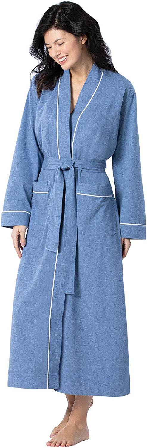 Direct store PajamaGram Long Women's Cotton Robes 25% OFF Soft Womens Robe -