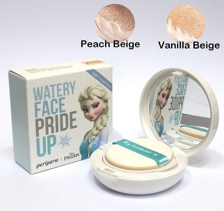 ヘッドレス感謝しているエピソード[PERIPERA] Watery Face Pride Up! Cushion Pact SPF50+ PA+++ 13g / 水面がプライドアップ!クッションパクトSPF50 + PA +++ 13g / #2. Vanilla Beige / #2。バニラベージュ/韓国化粧品 / Korean Cosmetics [並行輸入品]