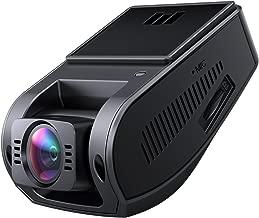 AUKEY Telecamera per Auto 4K 2880 x 2160P Dash Cam Grandangolare con Super-Condensatore HDR Video Camera per Auto con Registrazione in Loop G-Sensore e Caricatore USB da Auto a 2-Porta