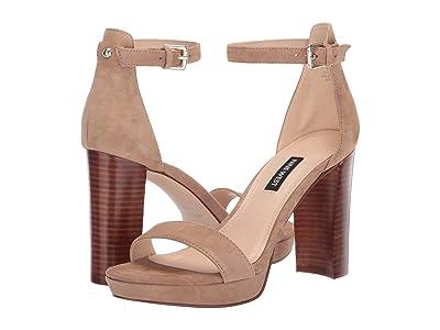 Nine West Dempsey Heeled Sandal (Light Natural) Women