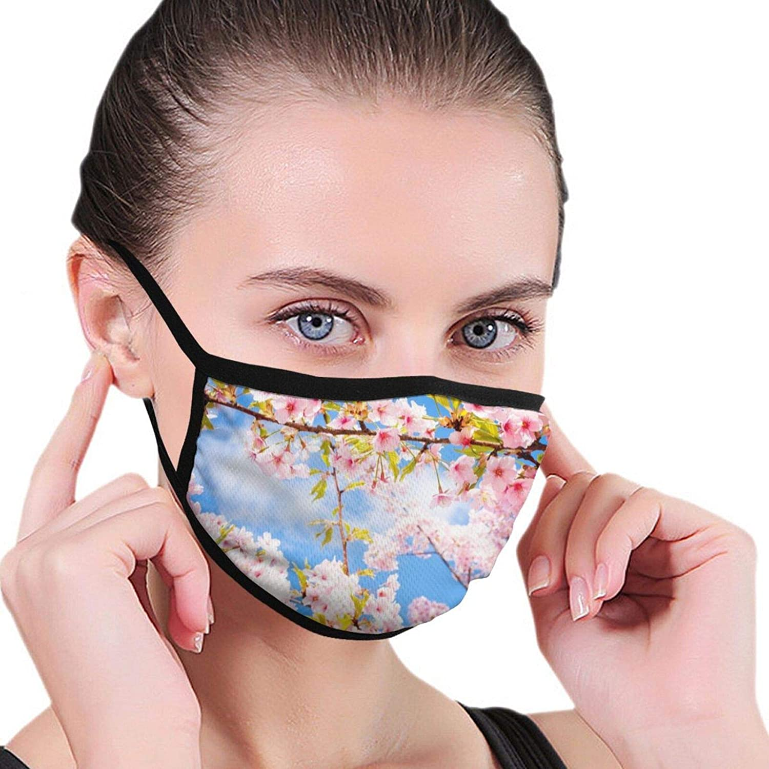 2 Packs Reusable Heart Love Facial Covering Mouth Wear Unisex Cotton