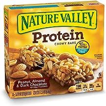 Nature Valley Chewy Granola Bar, Protein, Peanut, Almond and Dark Chocolate, Gluten Free