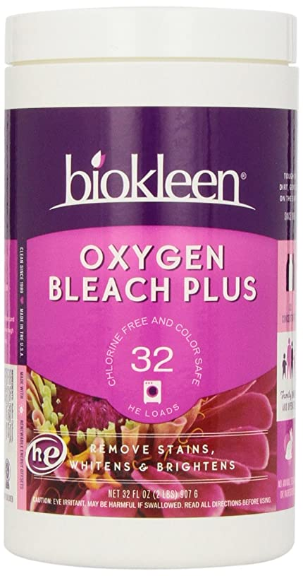 順番硫黄旅行者Oxygen Bleach Plus, 32 oz (907 g)