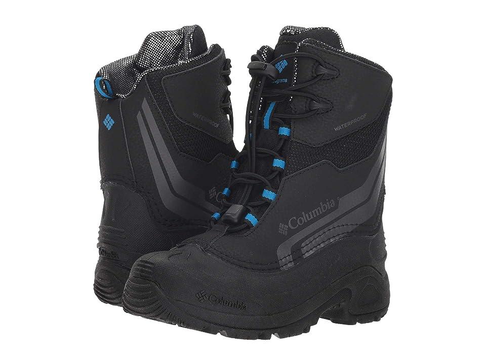 Columbia Kids Bugaboottm Plus IV Omni-Heattm (Little Kid/Big Kid) (Black/Hyper Blue) Boys Shoes