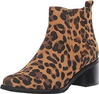 Blondo Elvina حذاء برقبة مقاوم للماء جلد الفهد 6.5