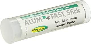 Hy-Poxy H-259 Alumfast Rapid Cure Aluminum Filled Epoxy Putty, 2 oz Stick