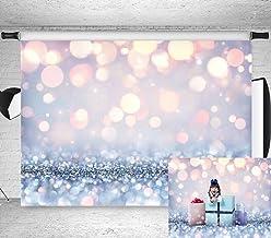 7x5ft Stylish Simplicity Bling Theme Bokeh (Not Glitter) Backdrop Dreamy Silvery White Spots Photography Background Baby S...