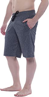 Alki'i Men's Light Weight Comfort Terry Shorts with Pockets 7106