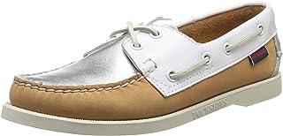 Sebago Spinnaker B58168 - Zapatos de Cuero Nobuck para Mujer