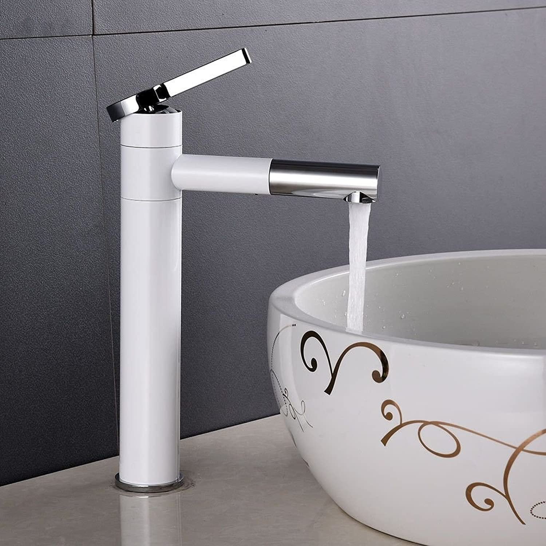 Gyps Faucet Basin Mixer Tap Waterfall Faucet Antique Bathroom Mixer Bar Mixer Shower Set Tap antique bathroom faucet To redate the antique white brass single handle one hole ceramic valve cold water b