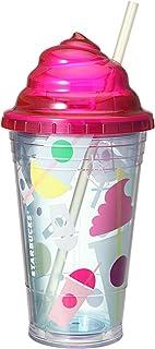 ロゴコールドカップタンブラーホイップリッドフラペチーノ16oz (470ml) スターバックス Starbucks coffee 2016 【ギフトボックス入り】 レッド
