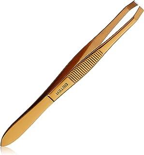 Beter - Pinzas con punta roma recta - 10.4 cm - 1 unidad