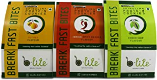 Blite Spirulina High Protein Cookies 3 Flavour COMBO