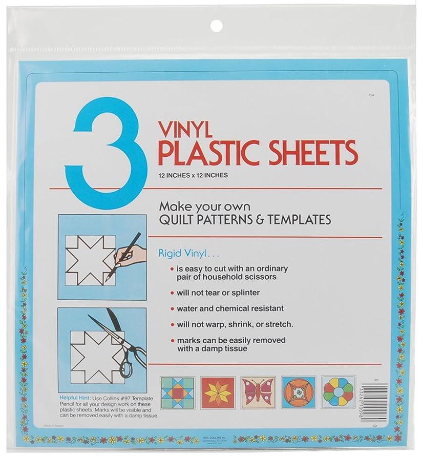 Dritz C98 Collins Vinyl Plastic Sheets, 12