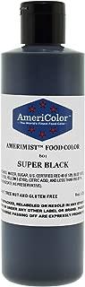 AmeriColor AmeriMist Airbrush Colour - Super Black - 9 oz