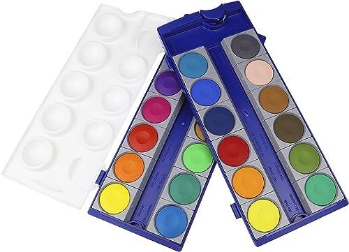 Pelikan - 720631 - Loisirs Créatifs - Palette de Peinture - 24 Couleur