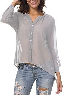 Best shop sheer blouse Reviews