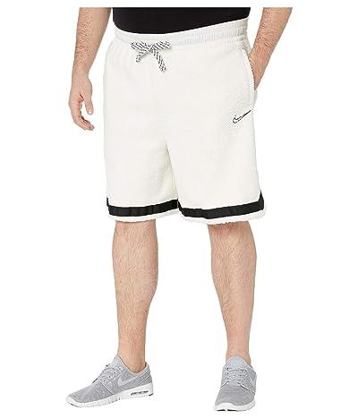 Nike Big Tall Cozy DNA Shorts (Sail/Black) Men