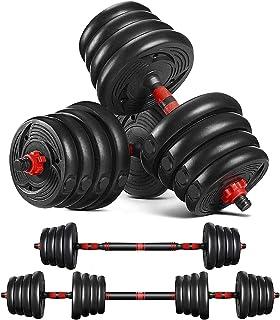Joly Home 20Kg Dumbbells Set of Gym Weights Barbell//Dumbbell Body Building 20KG Set
