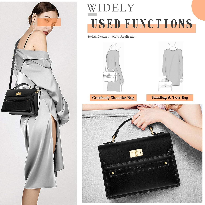 Fashion Ladies Luxury PU Leather Shoulder Crossbody Bag with Large Capacity FYY Small Women Purses Handbags
