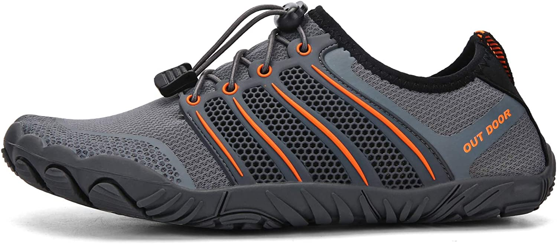 MULINSEN Water Shoes Barefoot Quick-Dry Aqua Yoga Outdoor Beach Surfing Swim Aqua Shoes for Women Men