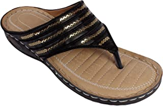 Stepee Chappal Ortho Care Orthopaedic and Diabetic Comfort Doctor Flip-Flop House Slipper's for Women's