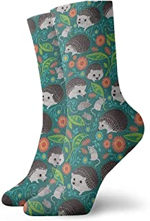 tyui7, Calcetines casuales de la bandera de Suecia con la bandera de América Calcetines de tobillo Calcetines de compresión de vestido corto para mujeres Hombres