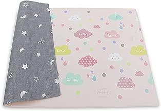 BABY CARE Reversible Happy Cloud Playmat