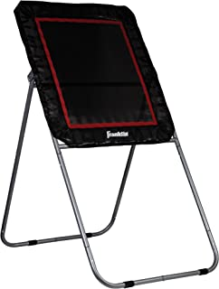 Franklin Sports Lacrosse Rebounder — Lacrosse Trainer Rebound Target for Multiple Angles — Easy to Store and Portable Lacrosse Rebound Trainer — 4' x 3' Rebound Target