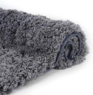 Sheepping Luxury Bathroom Rugs Shaggy Bath Rug Non Slip Bath Mat (20 x 32)- Efficient Water Absorbent, Machine Wash/Dry & ...