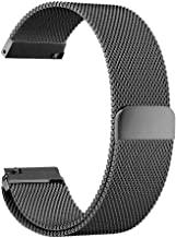 Stainless Steel Strap for Huami Amazfit Bip Bit Pace Lite Youth Smart Watch Metal Wrist Band,Gray