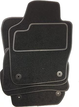 Floor Mats for Skoda Fabia 3 nbsp Models from 2014 nbsp Black Faux Leather