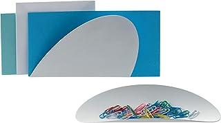 Alessi ABI09S W Récipient, Acier, Blanc, 4,00 x 29,00 x 21,50 cm, Set de 2